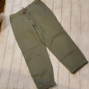 Uniqlo  olive pants size 26